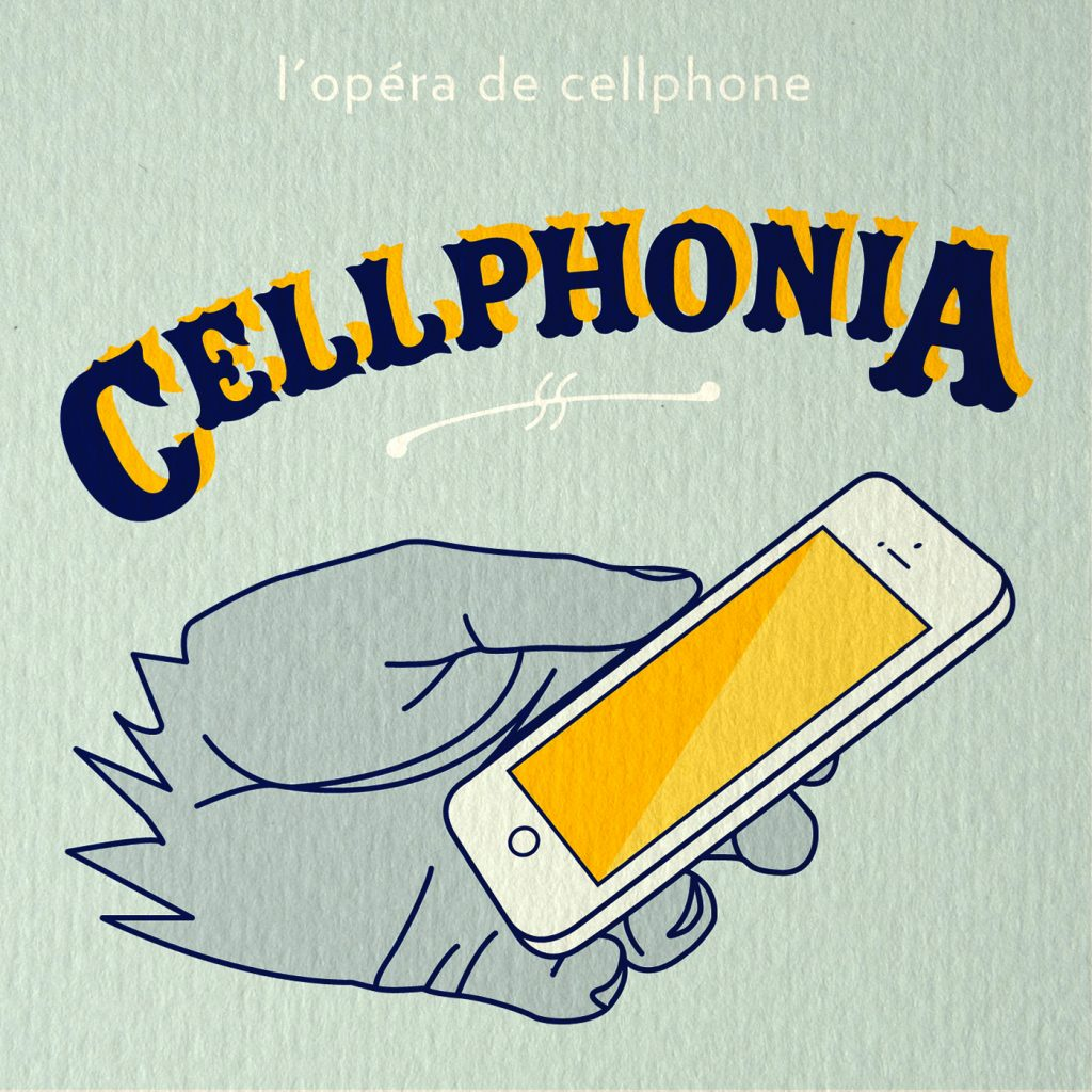 Cellphonia art